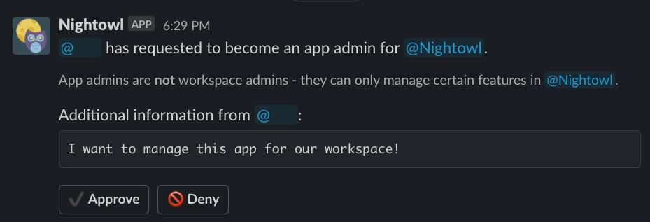 slack app approval